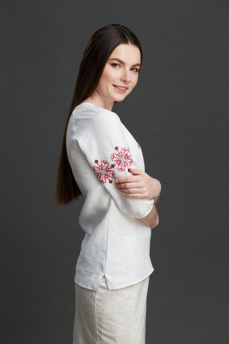 """Женская блузка с вышивкой """"Узорная"""". Фото 2"""