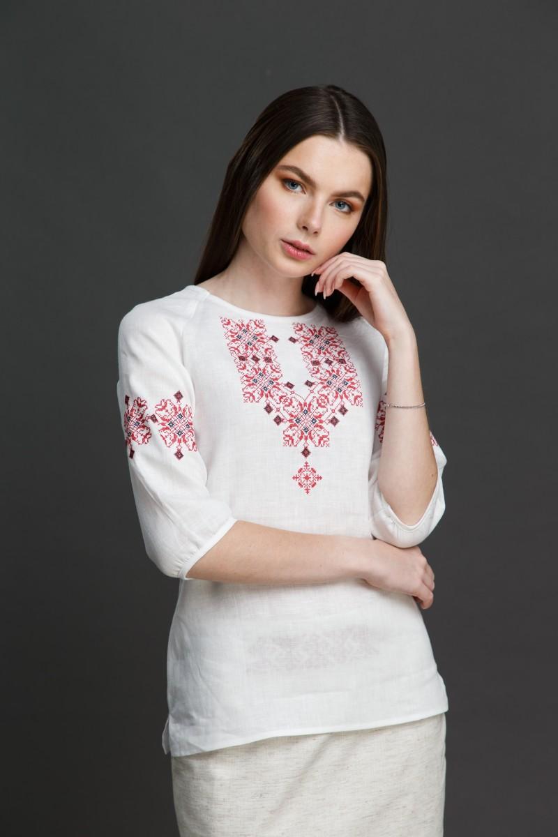 """Женская блузка с вышивкой """"Узорная"""". Фото 3"""