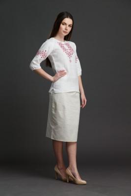 """Женская блузка с вышивкой """"Узорная"""". Фото 5"""