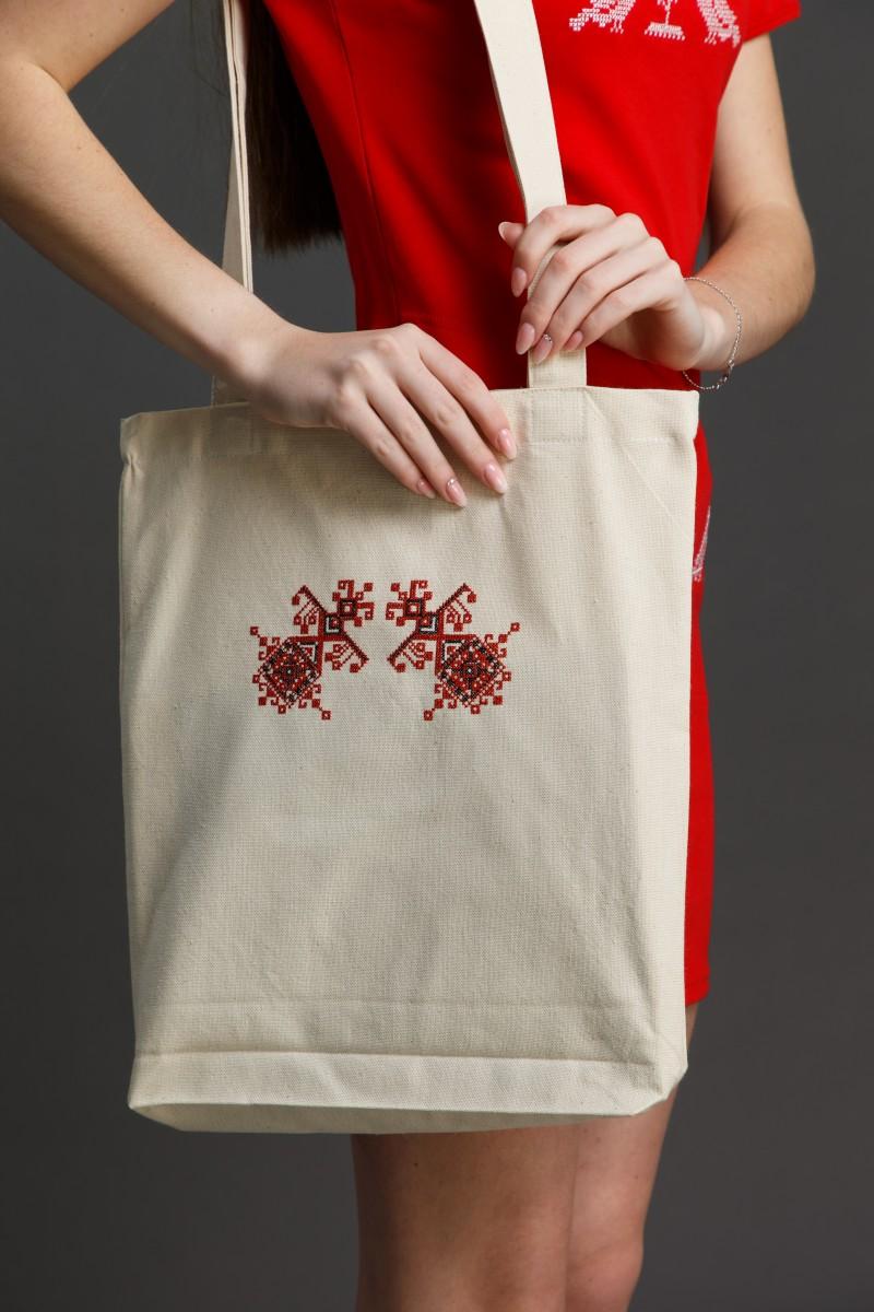 "Эко-сумка с вышивкой ""Берегини"". Фото 0"