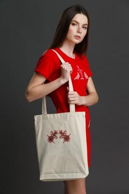 "Эко-сумка с вышивкой ""Берегини"". Фото 1"