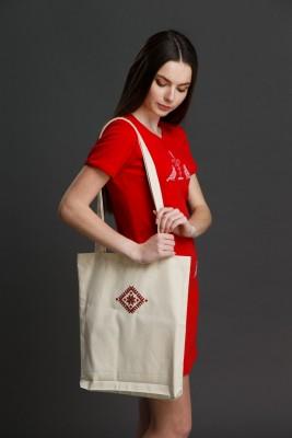 """Эко-сумка с вышивкой """"Вселенная"""". Фото 1"""