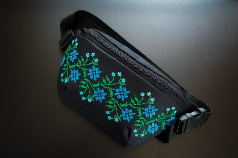 """Поясная сумка """"Лен"""". Фото 0"""