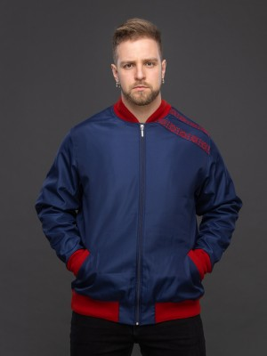Куртка-бомбер тёмно-синий DJEMPERW003